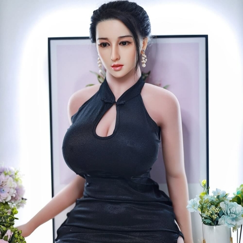 JY 171cm Huge Breast Ass Silicone Adult Sex Toys Beautiful Housewife Doll-XiuYing