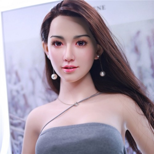 JY Sex Doll Ling 168cm with Silicone Head and implanted hair Type